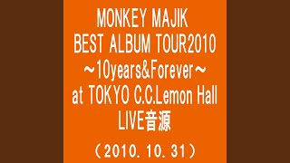 Gambar cover アイシテル (MONKEY MAJIK BEST ALBUM TOUR2010~10Years & Forever~at TOKYO C.C.Lemon...