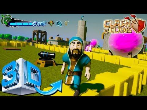 Versi Terbaru COC 3 Dimensi (3D) + Link Download Dan Cara Pasang - Clash Of Clans Indonesia