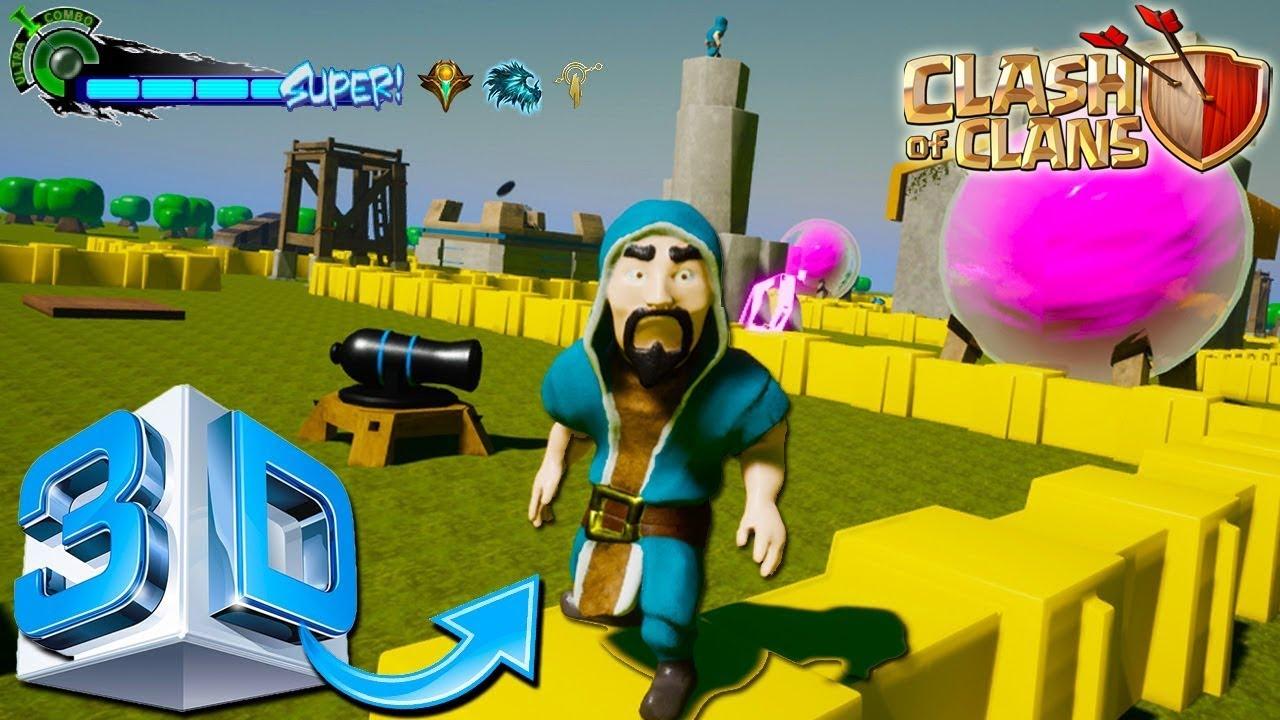 Versi Terbaru COC 3 Dimensi 3D Link Download Dan Cara Pasang Clash Clans Indonesia