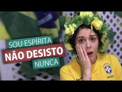 SOU ESPÍRITA, NÃO DESISTO NUNCA (Humor E Espiritismo)