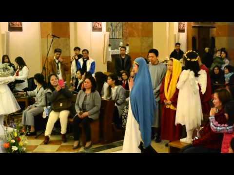 Salubong Easter Sunday 2016 - Filipino Chaplaincy of Padova