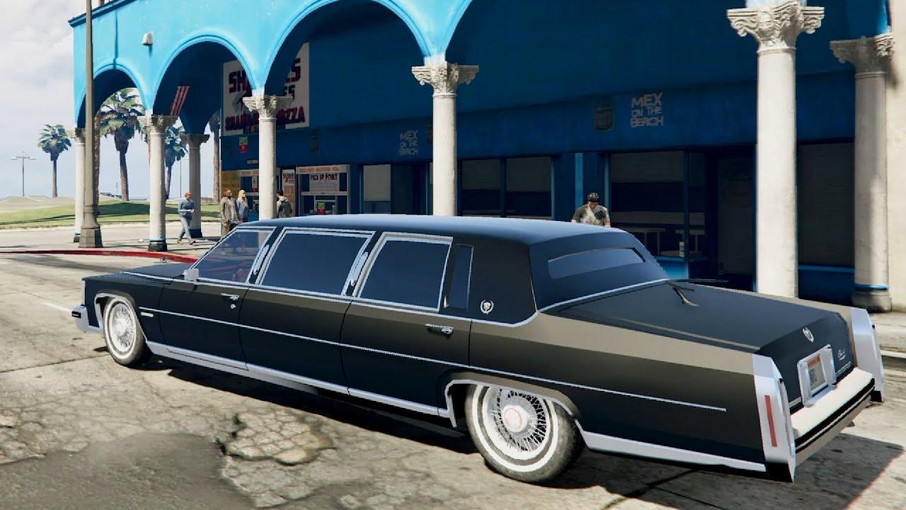 Cadillac fleetwood limousine 1985 beta gta v youtube for Fenetre sale gta 5