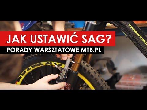 Porady MTB.pl: Ustawianie zawieszenia - Sag