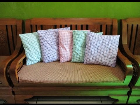 how to clean pillows without zipper