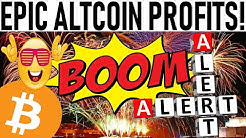 EPIC ALTCOIN PROFITS! SAMSUNG'S CRYPTO CHIP! VISA'S NEW CRYPTO! ADA STAKING DEBIT CARD! MATIC PUMP!