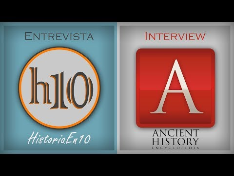 Interview with James of  the Ancient History Encyclopedia | History divulgation online