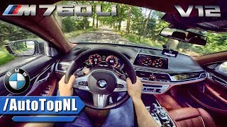 BMW 7 Series M760Li xDrive 610HP V12 POV Test Drive by AutoTopNL
