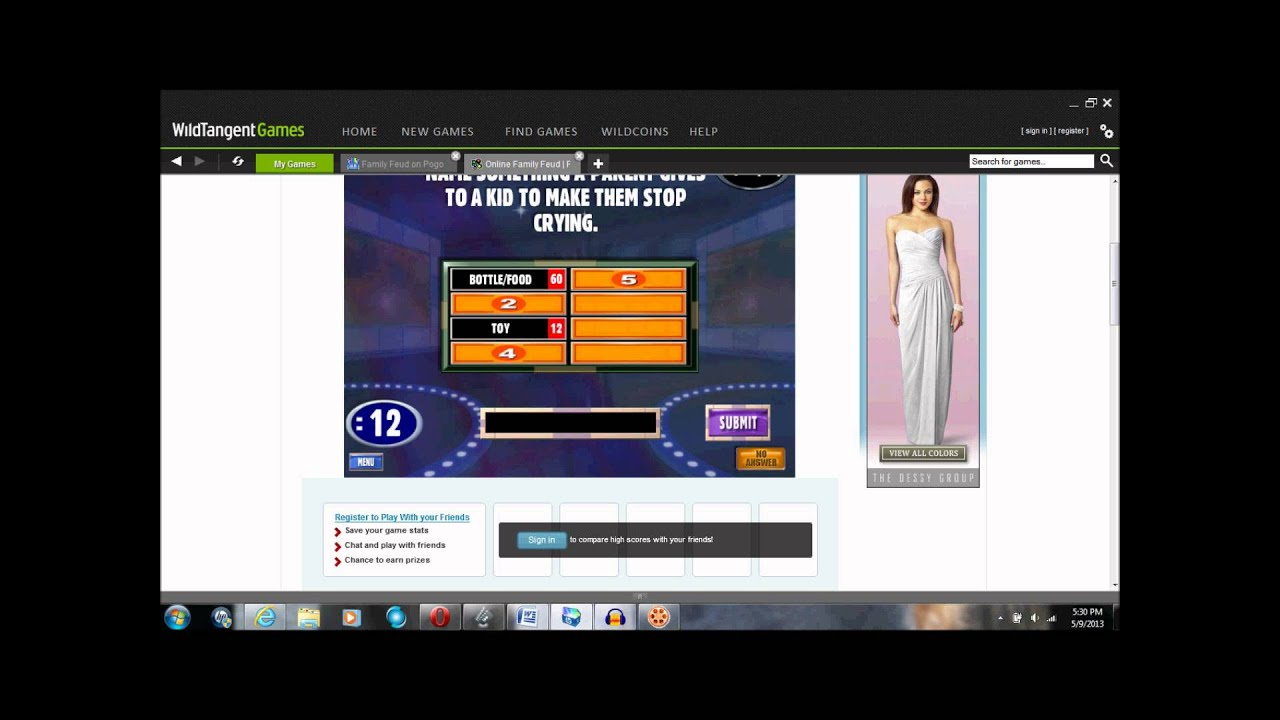 Flash Game Fails: Family Feud