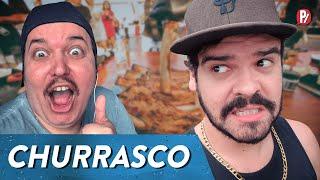 CONVITE PRO CHURRASCO | PARAFERNALHA
