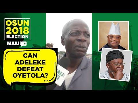 Osun Election: Can PDP's Adeleke defeat APC's Oyetola? Osun residents speak Naijcom TV