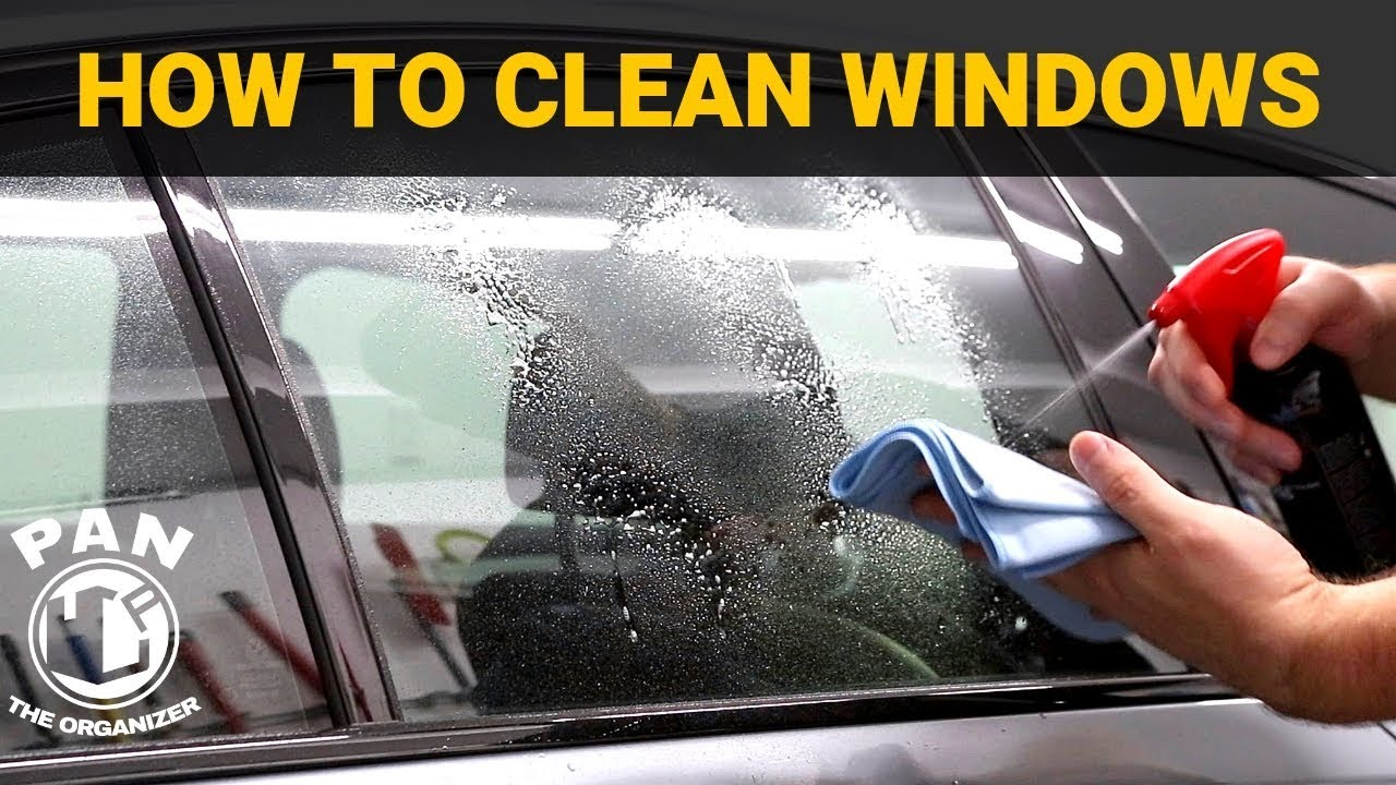 How To Clean Car Windows Like A Pro