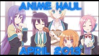 anime haul april 2013 gj bu love live gravity rush