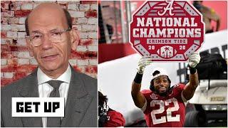 Paul Finebaum denounces the idea that Alabama's title should have an asterisk   Get Up