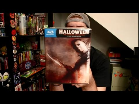 Download Halloween: Complete Deluxe Edition Blu-Ray Scream Factory Unboxing