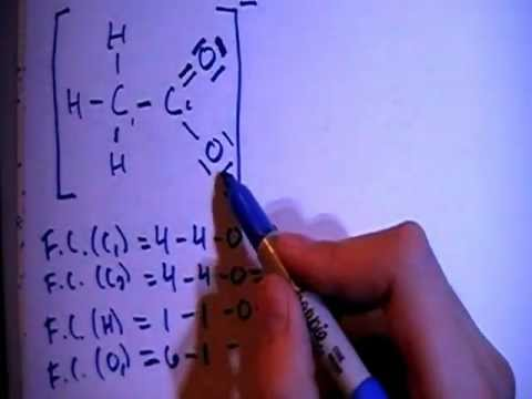 Acetate Ion C2h3o2