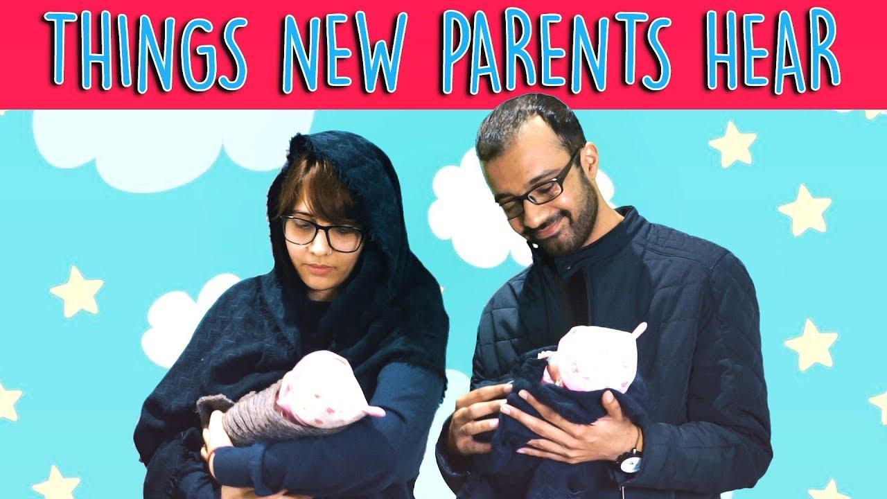 Things New Parents Hear | MangoBaaz
