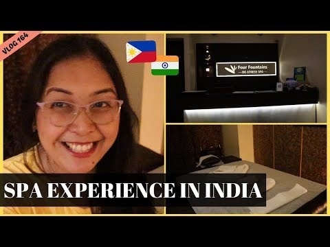 COUPLE MASSAGE EXPERIENCE WITH HUSBAND II Filipino Indian Family Vlog # 164