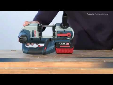 Видео обзор: Акк. ленточная пила BOSCH GCB 18 V-LI Solo без АКБ и ЗУ
