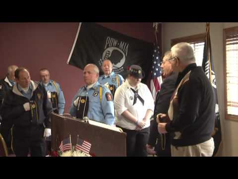 Veterans Day in Rouses Point  11-11-13