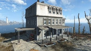 Fallout 4 - Mission: Help Defend Croup Manor (Missile Turret Defense)