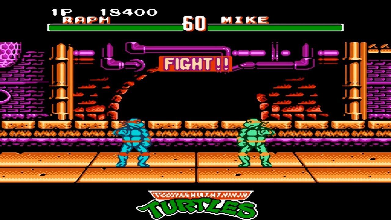 game 4 nút huyền thoại – ninja rùa  [ NES ]
