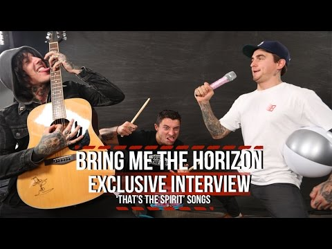 Bring Me The Horizon Discuss 'That's the Spirit' Songs