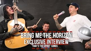 bring me the horizon discuss thats the spirit songs