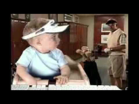 E*TRADE - Golf Baby Super Bowl XLIII Commercial 2009