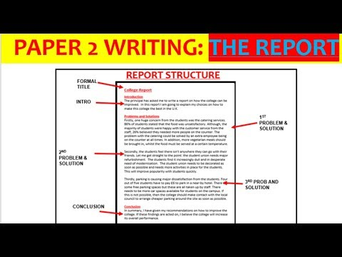 English how to write an essay