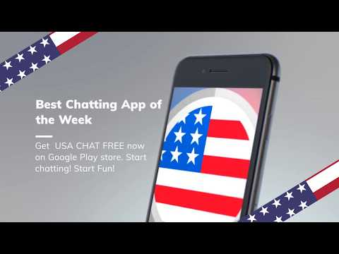 Chat With People From USA | USA CHAT FREE | Get It On Google Play |