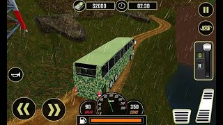 Army Bus Driver 2021 Real Military Coach Simulator (Android/iOS) Gameplay screenshot 4