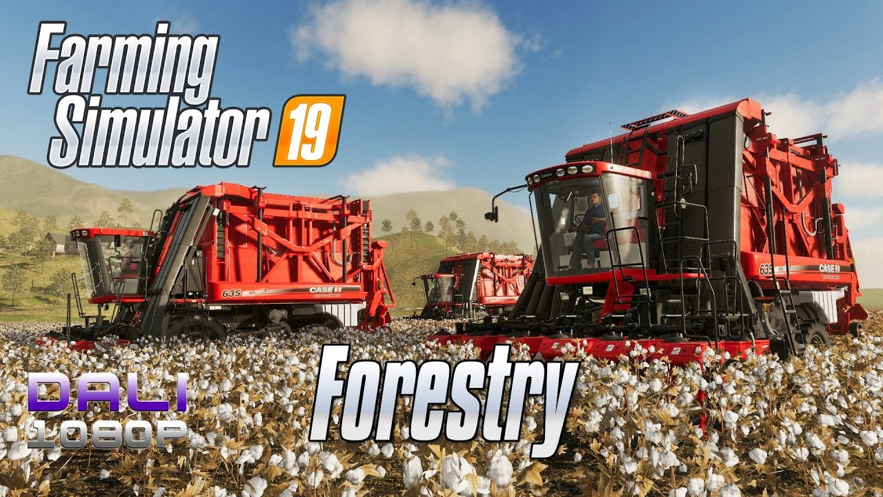 Farming Simulator 19 Forestry Tutorial pc gameplay 1080p 60fps