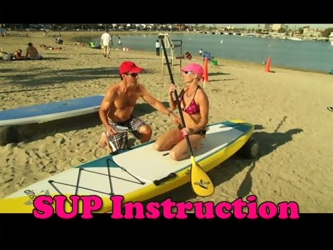 Stand Up Paddle Boarding Beginners Technique - SUP Instruction
