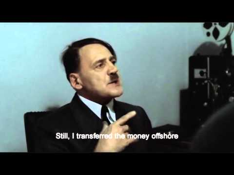 Hitler is informed about the Cyprus bank deposit raid