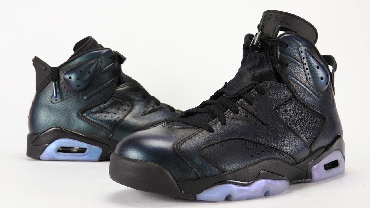 4ab9fc852826d3 Air Jordan 6 All Star Chameleon Review + On Feet - YouTube
