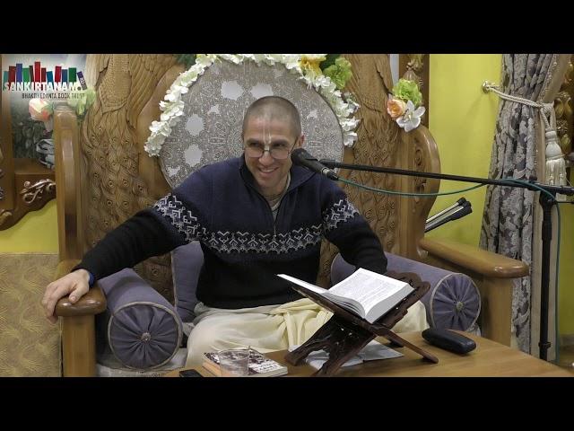 Лекция Рагхава Пандит прабху на фестивале санкиртаны в Казани