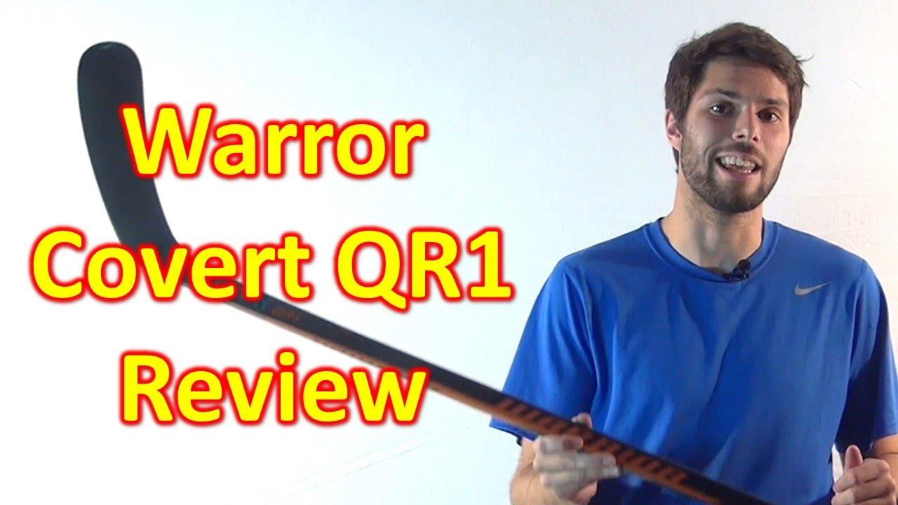 Warrior Covert QR1 Hockey Stick Review - YouTube