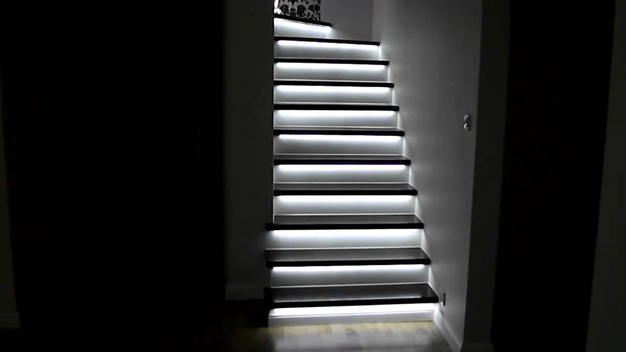Inteligentne Oświetlenie Led Schodów Wwwswiatlonawymiarpl