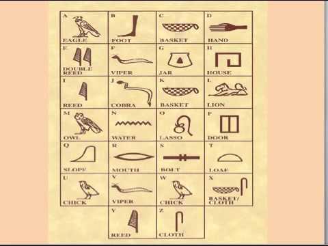 Egyptian Writing and Art