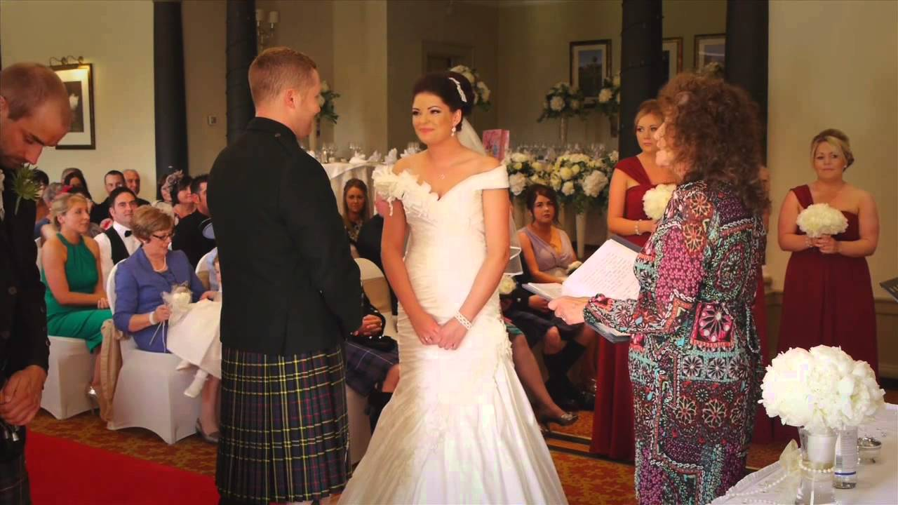weddings at macdonald pittodrie house, near aberdeen - youtube