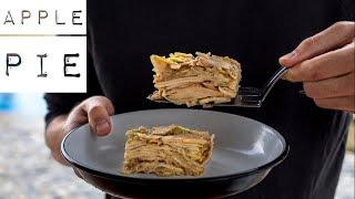 Яблочный пирог 🍎самый быстрый и полезный рецепт 🍏vegan & raw