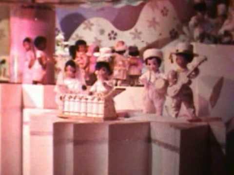 Its A Small World Disneyland CA Super 8mm Movie Flim Clip Disney Hbvideos Cooldisneylandvideos