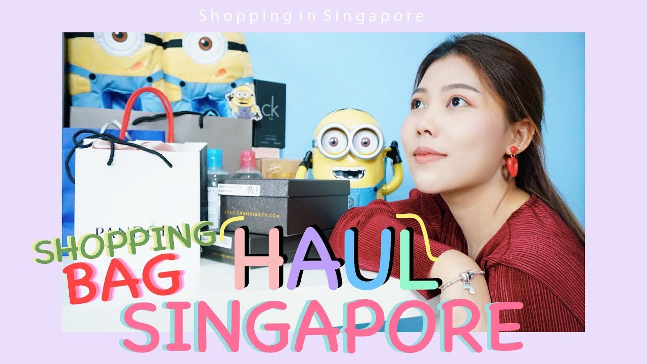 HAUL เปิดถุงช้อปปิ้ง ของจากสิงคโปร์ | Shopping in Singapore | A Journey