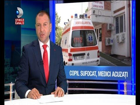 Stirile Kanal D (15.07.2017) - Copil SUFOCAT cu o boaba de porumb! Cine e vinovat?