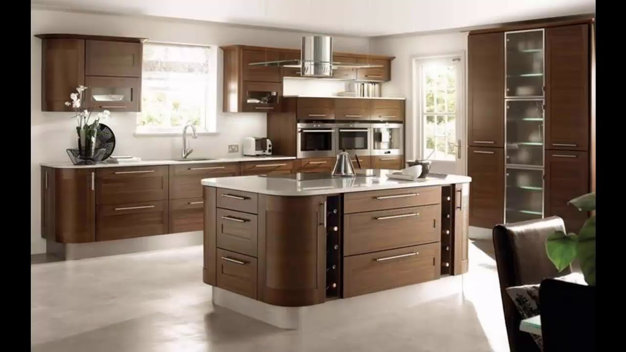 decoracion de cocinas beige y marron youtube