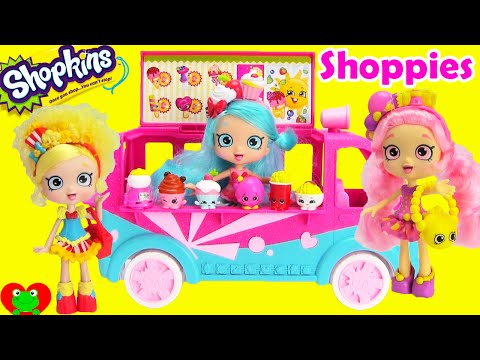 Shopkins Shoppies Dolls and Playsets with Blind Baskets