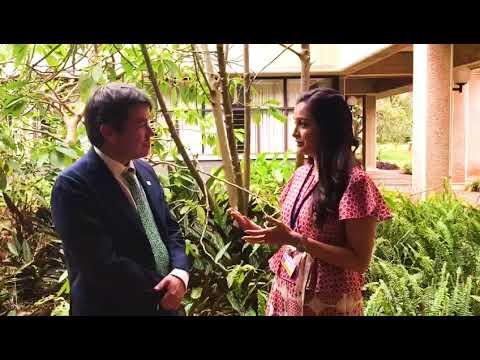 Dia Mirza talks to Marcelo Mena Carrasco about air pollution