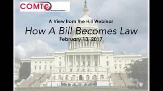 Legislation 101: How To Be A Part Of The Legislative Process