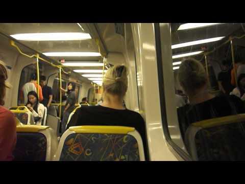 Metro Trains Melbourne - Onboard Flinders Street to South Yarra