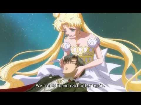 Sailor Moon Crystal  Sailor Moon verwandelt sich in prinzessin serenity
